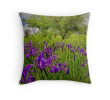 Wild Iris ~ Finley Refuge ~ Throw Pillow