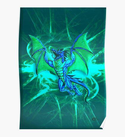 Freaky Dragon Poster
