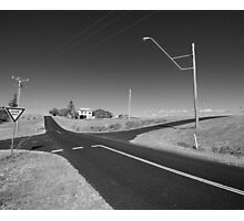 Emu Park Intersection Photographic Print