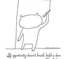 ... build a door / Cat doodles by eyecreate