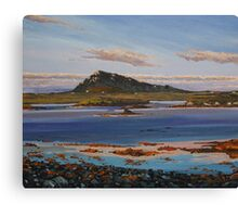 Sunset on Euval, North Uist Canvas Print