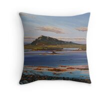 Sunset on Euval, North Uist Throw Pillow