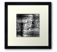 P1430771 _Luminance _Rasterbator _XnView _GIMP Framed Print