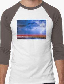 Drive By Lightning Strike Men's Baseball ¾ T-Shirt