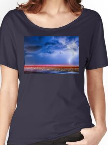 Drive By Lightning Strike Women's Relaxed Fit T-Shirt