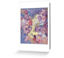 COSMIC FLORAL Greeting Card