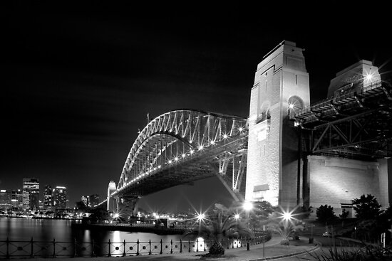 Sydney Harbour Bridge by Thomas Joannes