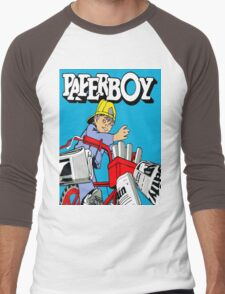 paperboy Men's Baseball ¾ T-Shirt