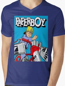 paperboy Mens V-Neck T-Shirt