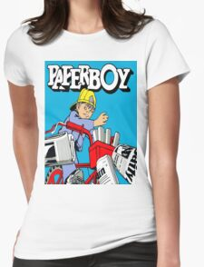 paperboy Womens Fitted T-Shirt