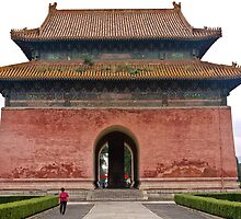 The Ming Tombs - Main Entrance by © Hany G. Jadaa © Prince John Photography