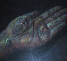 my hand by Jackie Penney