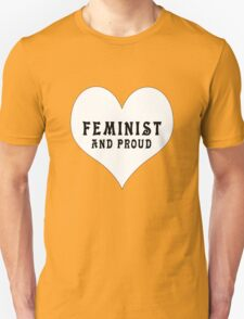 Feminist & Proud T-Shirt