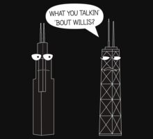 What You Talkin' 'Bout Willis? One Piece - Short Sleeve