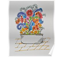 Flowers/25 - Tub/1 Poster
