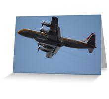 Bomber Plane Greeting Card