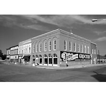 Route 66 - Atlanta, Illinois Photographic Print