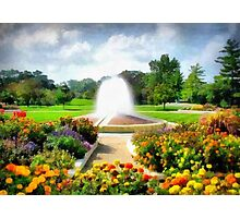 Garden In The Park Photographic Print