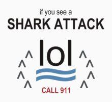 Shark Attack LOL by LTDesignStudio