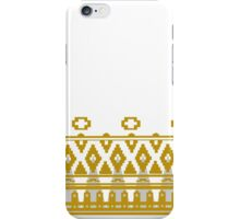 Journey: White Cloak Pattern iPhone Case/Skin