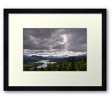A Dramatic Sky Framed Print