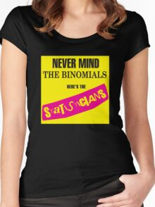 Never Mind The Binomials Women's Fitted Scoop T-Shirt