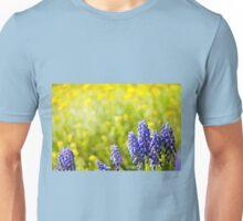 Blue Muscari Mill bunches Unisex T-Shirt