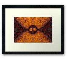 Shades of Russet Framed Print