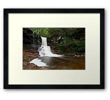 Sheldon Reynolds Falls Framed Print