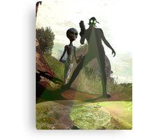 Alien Hunters Canvas Print