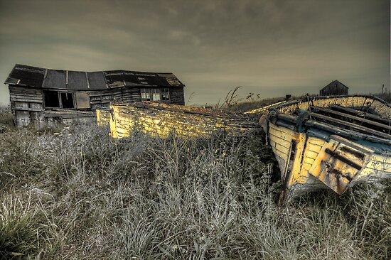 Beadnall House Boats Northumberland Coast  by Elaine123