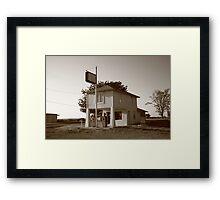 Dusk on Route 66 Framed Print
