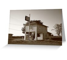 Dusk on Route 66 Greeting Card