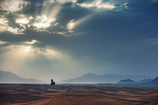Sahara Sunrise by Conor MacNeill