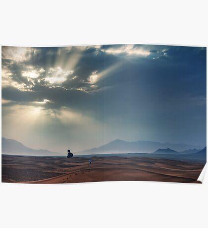 Sahara Sunrise Poster