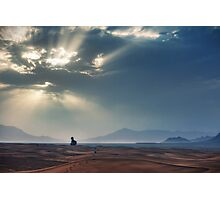 Sahara Sunrise Photographic Print