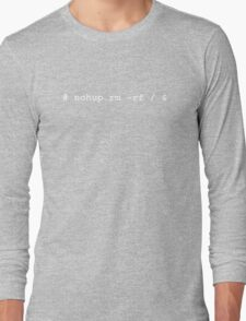 Destroy! Long Sleeve T-Shirt