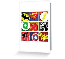 I AM (insert superhero here) ! Greeting Card
