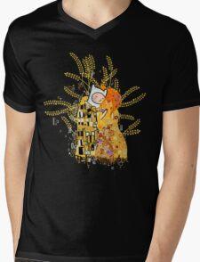 Dat Kiss Mens V-Neck T-Shirt