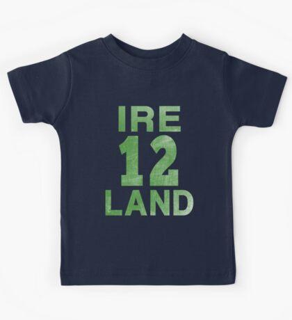 IRELAND 12  Kids Tee