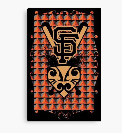 San Francisco Native Giants Canvas Print
