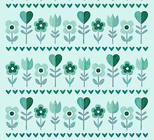 Love Garden – Seafoam by daisy-beatrice