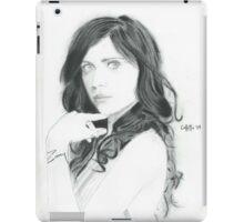 Zooey Deschanel iPad Case/Skin