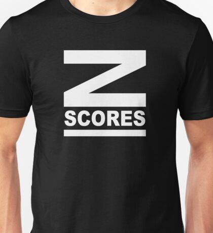 Z-Scores Unisex T-Shirt