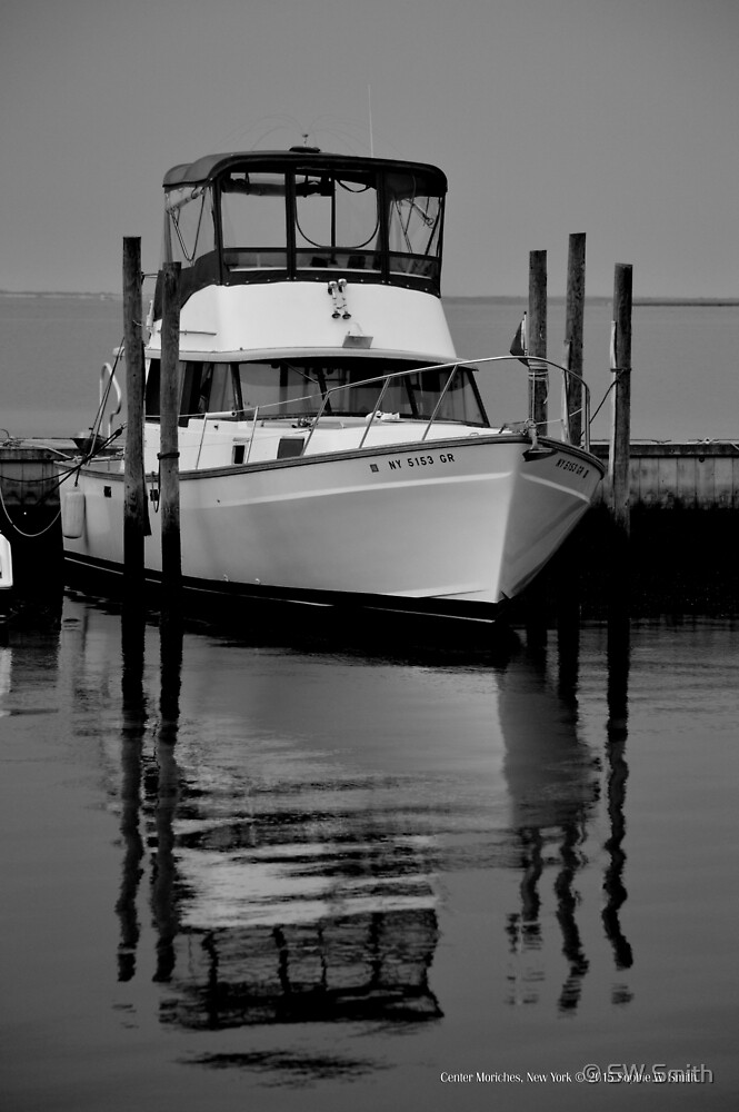 Boat | Center Moriches, New York  by © Sophie W. Smith