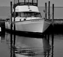Boat   Center Moriches, New York  by © Sophie W. Smith