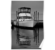 Boat | Center Moriches, New York  Poster