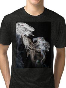 Dragons in smoke Tri-blend T-Shirt