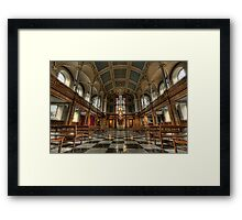 House of God Framed Print