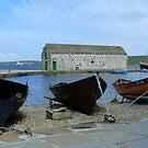 Fishing Boats by Lynn Bolt